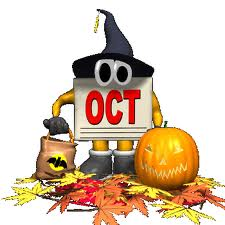 The Schedule for October