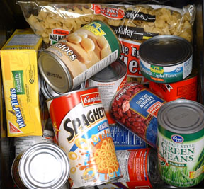 Donate to the Stuff-A-Bus Canned Food Drive