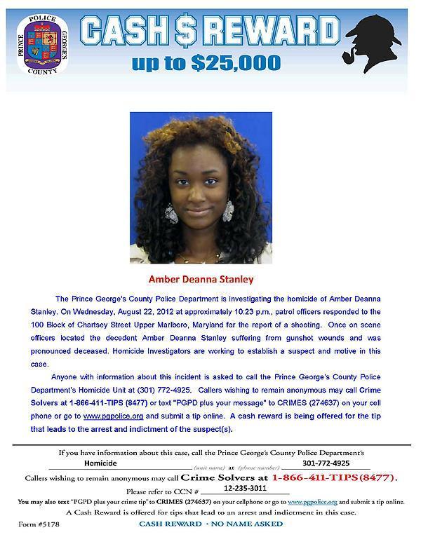 Help Amber Stanley