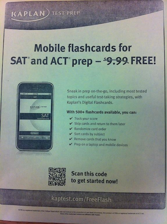 Mobile+flashcards+for+SAT+and+ACT+prep+for+Free