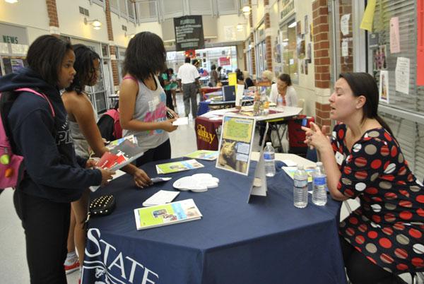 Community Day Hosts 2013 CHFHS College Fair