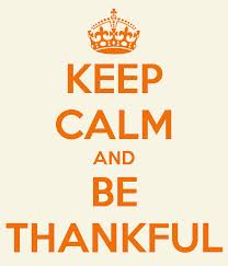Inspirational Quote of the Week: Be Thankful