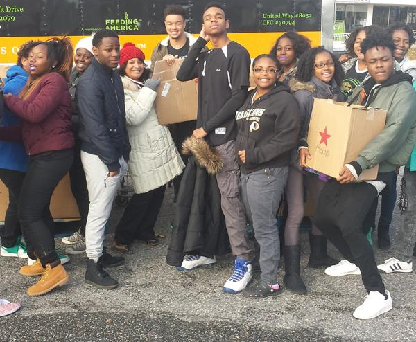 CHFHS Sets An Example With Capital Area Food Bank Donation