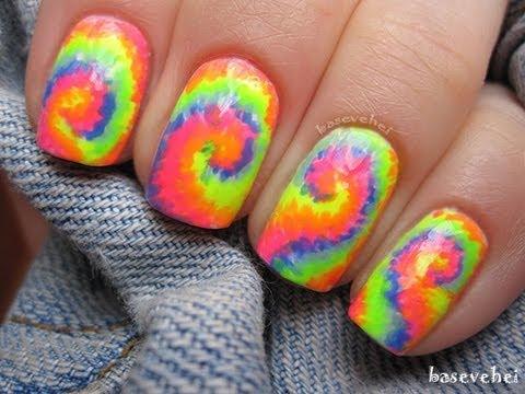 DIY: Tie-Dye Nails