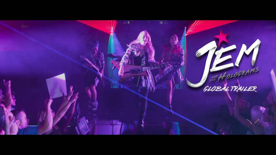 Jems and the Holograms Movie Review