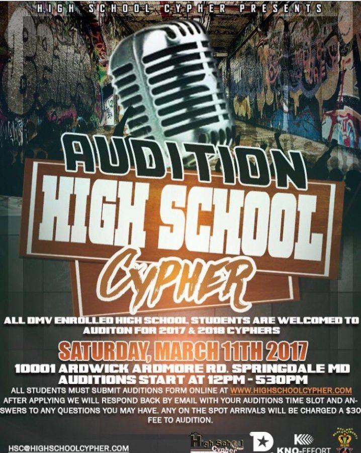 High+School+Cypher+Auditions+at+the+Mecca+of+Excellence