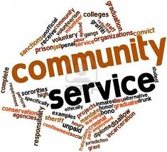 Community Service Hours Event on May 13th