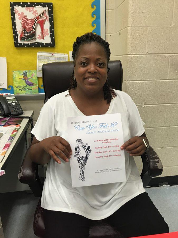 Ms.Ingram drama teacher and music director