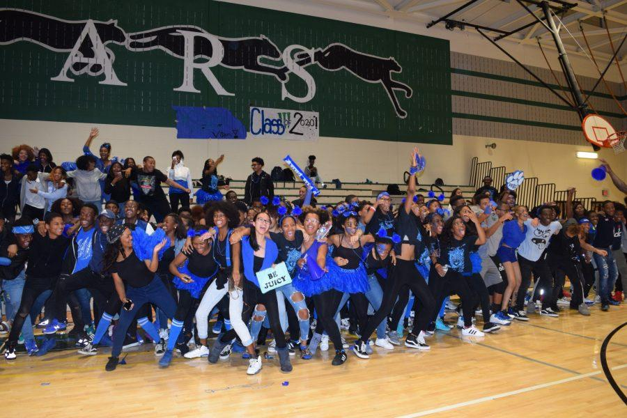 Class of 2020 at Class Night last year, October 2017.