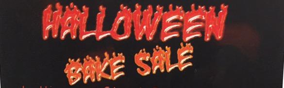 Halloween Bake Sale