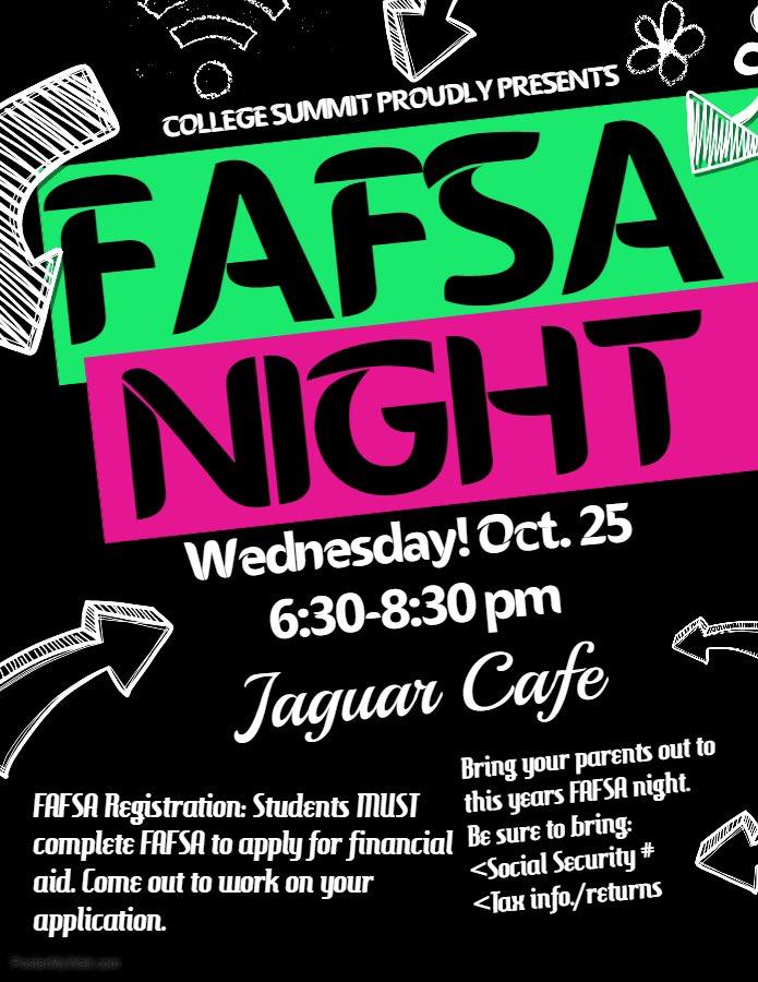 FAFSA Night !