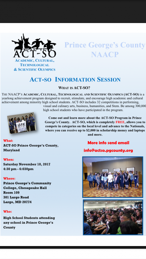 PG County NAACP Opportunity
