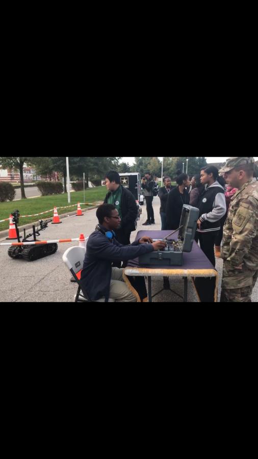 U.S. Local Army Visits Jaguars