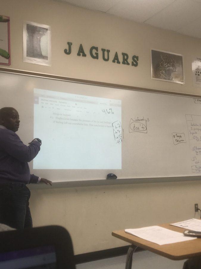 Mr. Pettigrew's AP Language Arts Class