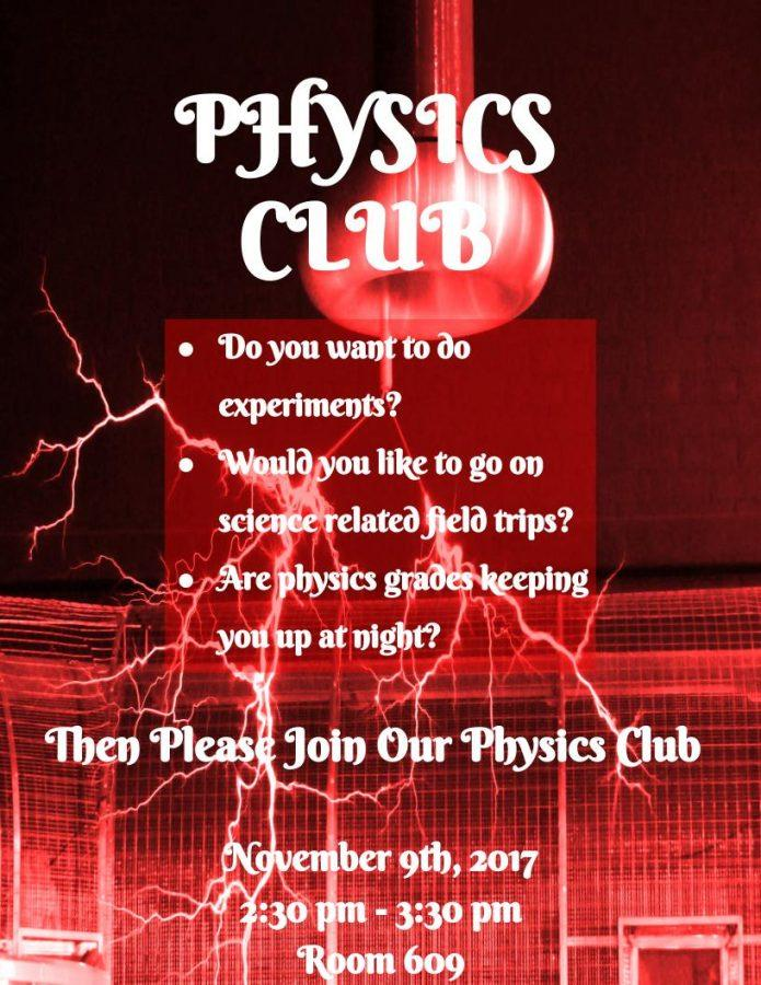 Physics+Club%E2%80%99s+Interest+meeting