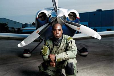 Pilot Barrington Irvin