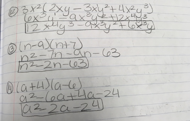 Math Problems of the Day - 12/12/17