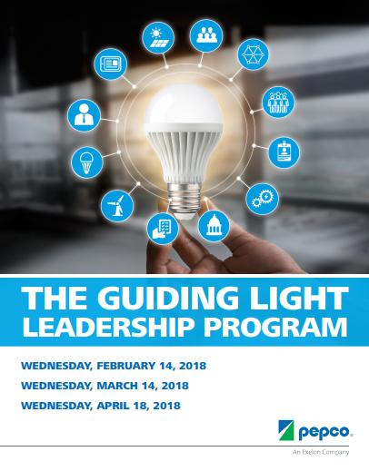 Pepco Guiding Light Leadership Program 2017