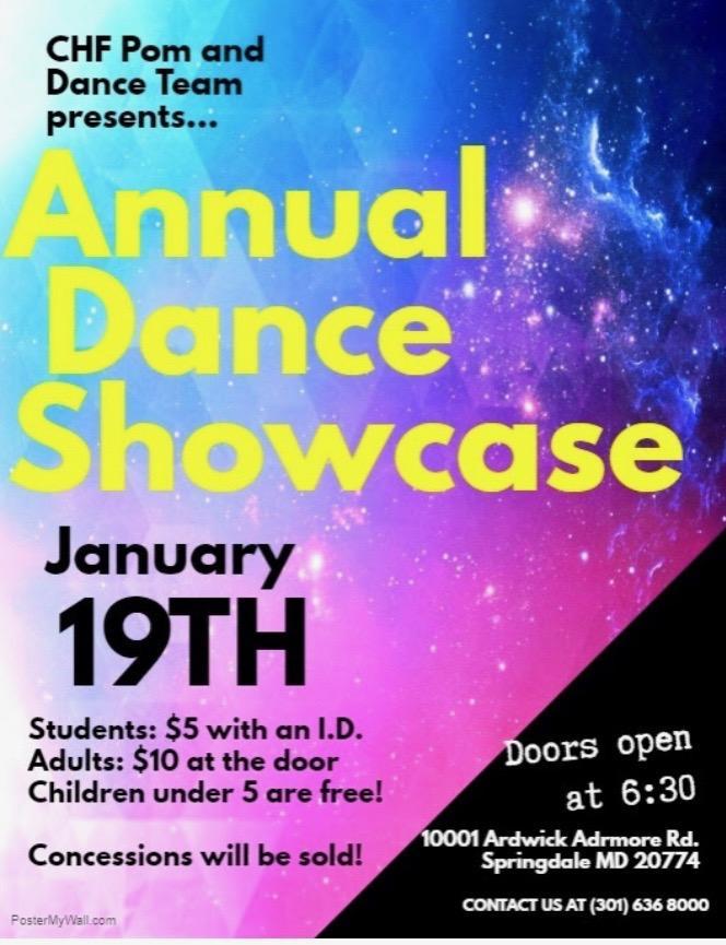 Annual Dance Showcase