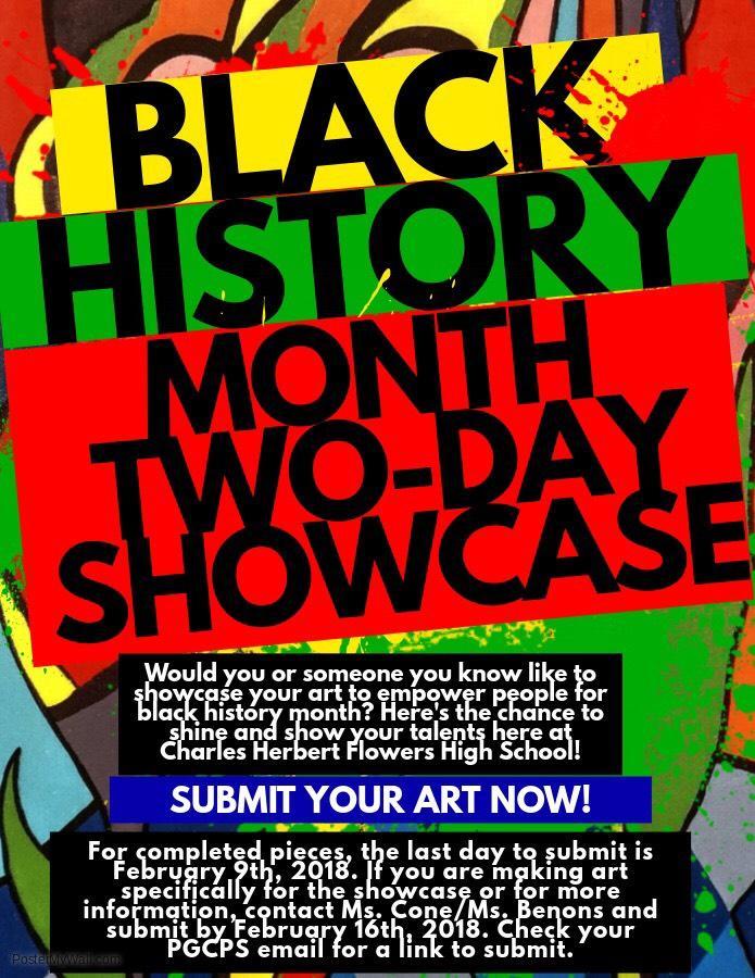 Black History Month Showcase: Artwork