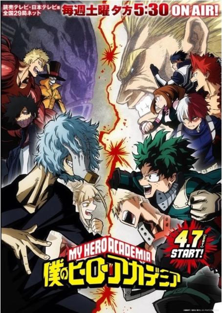 Boku No Hero Academia Season 3 Visual Released!!