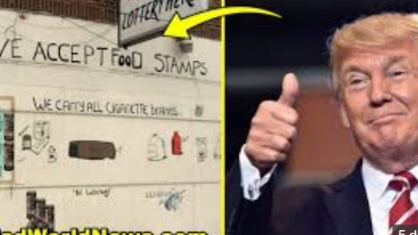Trump changes food stamps to food boxes!