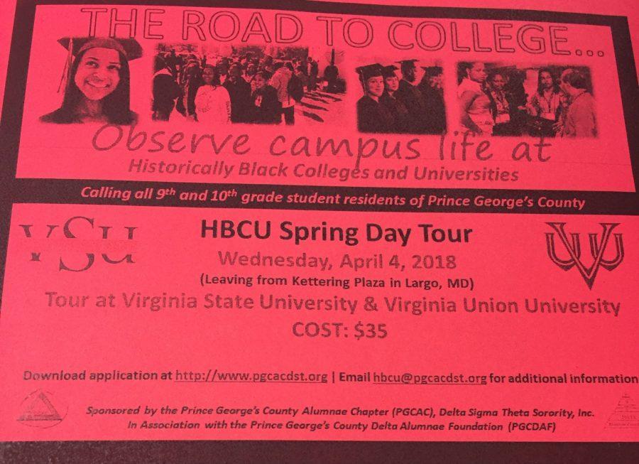 HBCU Spring Day Tour