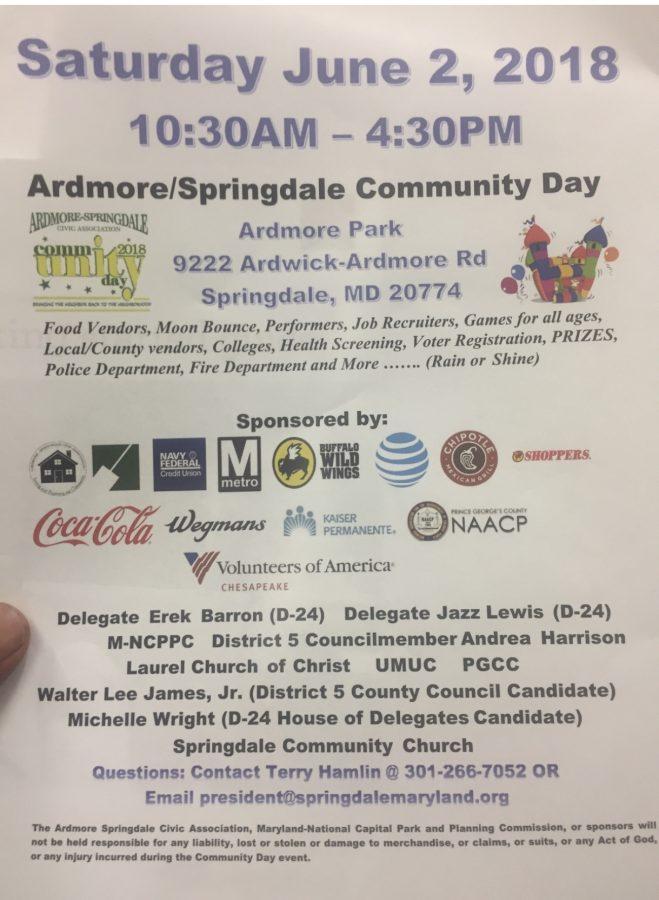 Admore/Springdale Community Day