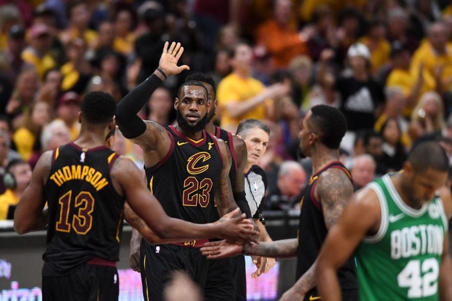 Cleveland Cavaliers Tie Series 2-2 Against Boston Celtics