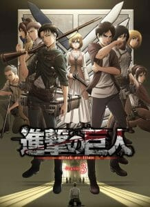 Attack On Titan Season 3 Set to Release July 22, 2018!