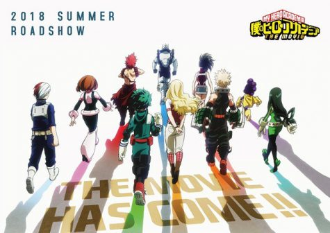 Boku No Hero Academia Movie New Exciting Visual