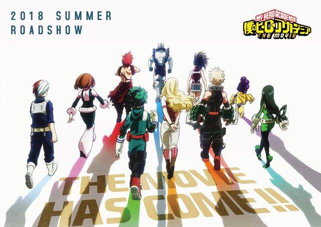 Boku No Hero Academia Movie New Exciting Visual