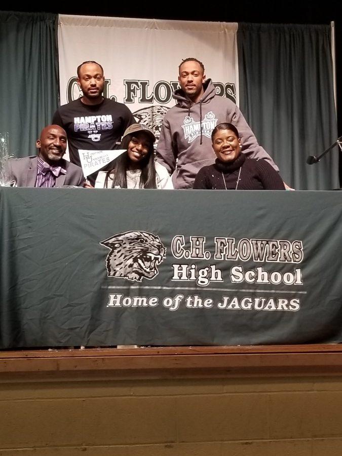 Dejah Grant Signs To Hampton University