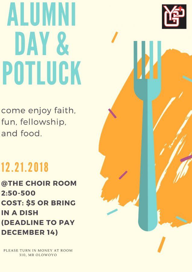 Alumni & Potluck Day!