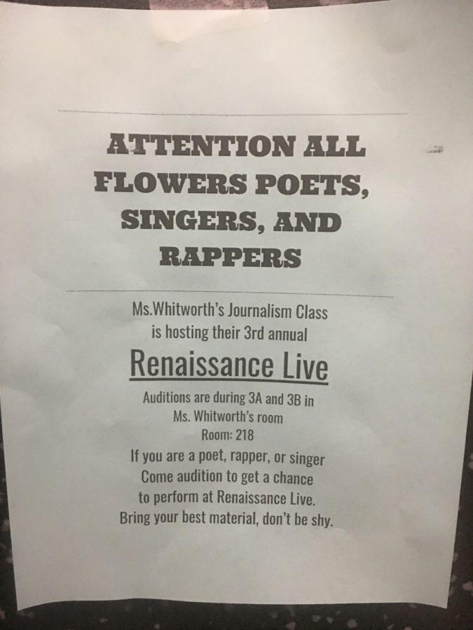 Renaissance Live Information