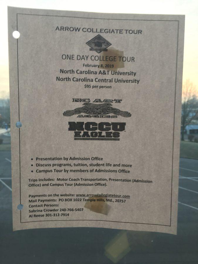 Arrow Collegiate Tour