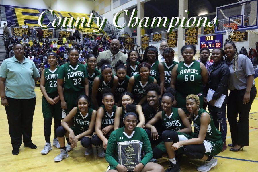 Lady Jags Basketball Win County Championship!