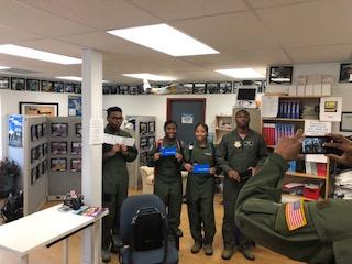 AFJROTC Cadets Take Flight