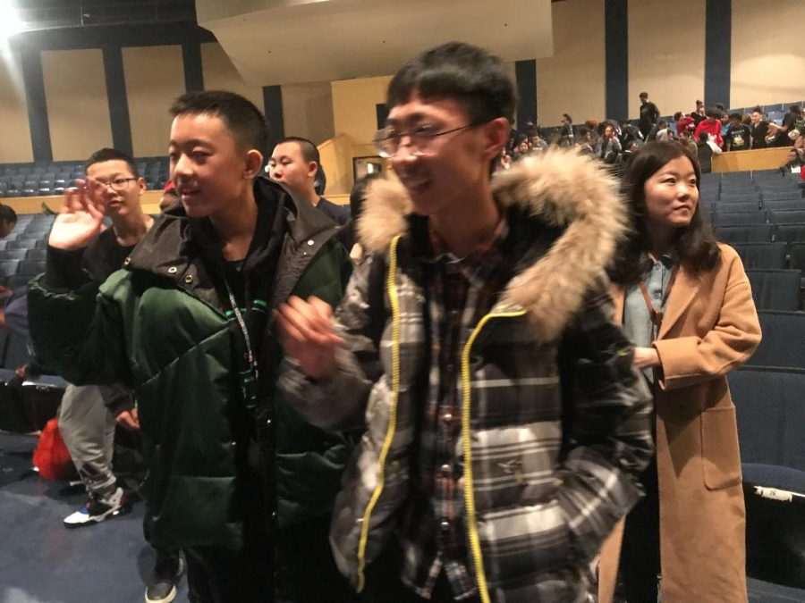 Chinese Exchange Students