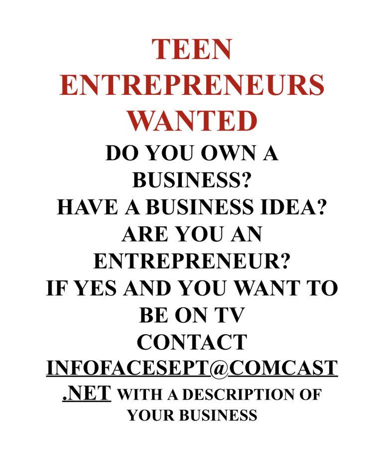 Entrepreneur Opportunities