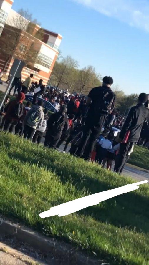 Major Gas Leak At Charles H. Flowers High School