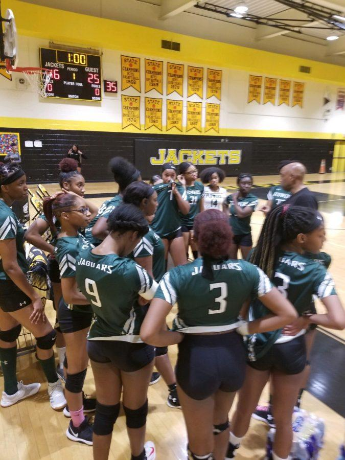 Volleyball+Swoops%3A+Both+Volleyball+teams+Won+against+Gwynn+Park+Yellow+Jackets