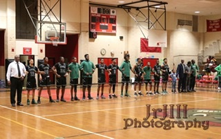 Varsity basketball Jaguars take on the Potomac Wolverines