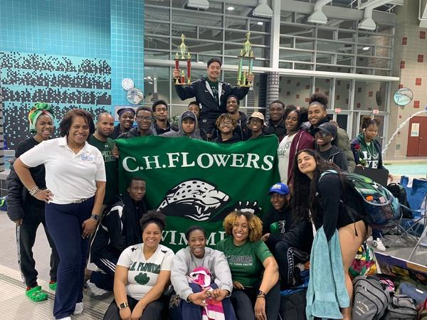 Swim Team Takes Home Second Place Win