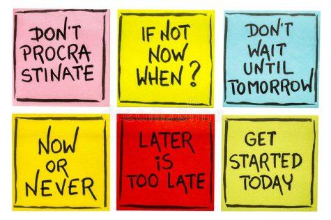 Procrastination (Pro)blems