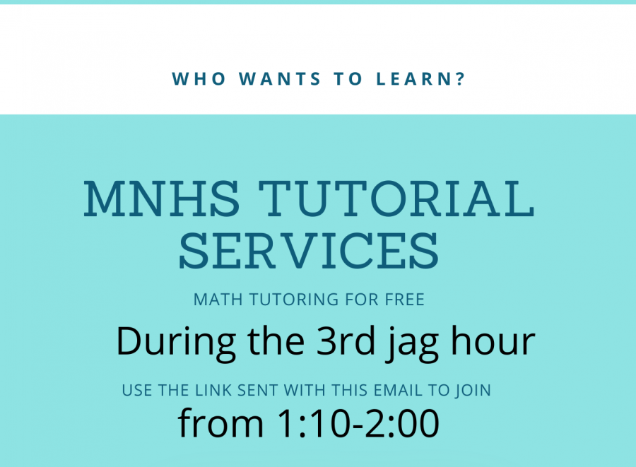 Math Tutoring during distance learning