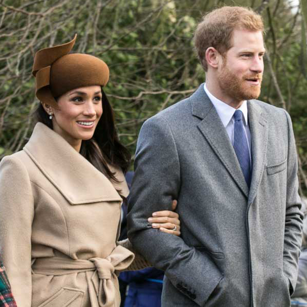 Prince Harry and Meghan Markle as Duke and Duchess of Sussex; December 2017