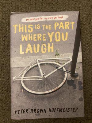 Book sent by the Random House Children's Books high school newspaper book review program
